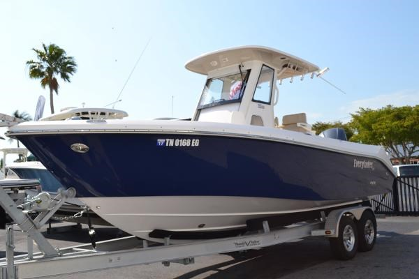 2014 everglades 255 center console boat for sale 25 foot for Used fishing boats for sale in florida
