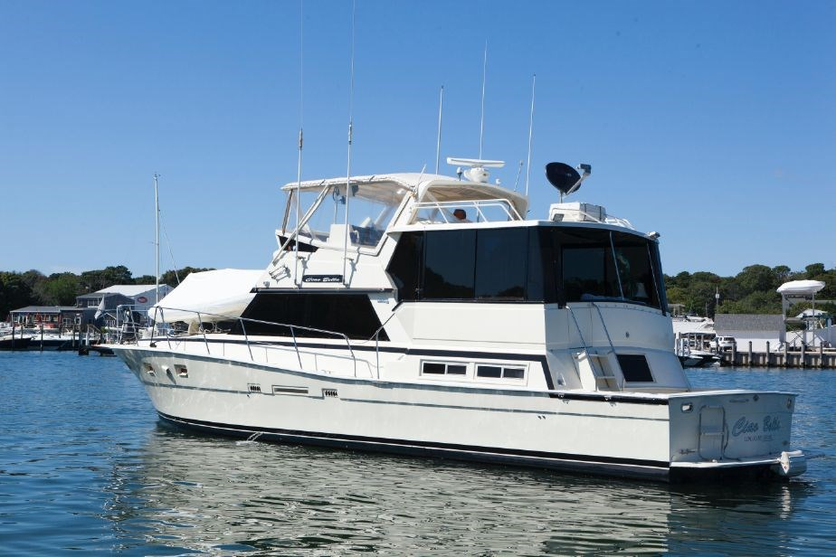 Viking 50 Cockpit Motor Yacht 1985 Used Boat For Sale In