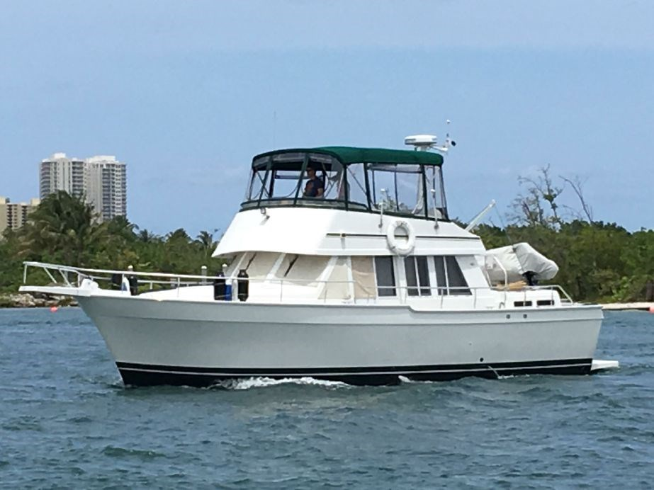 2001 mainship 430 trawler boat for sale 2001 mainship for Port motors west palm beach