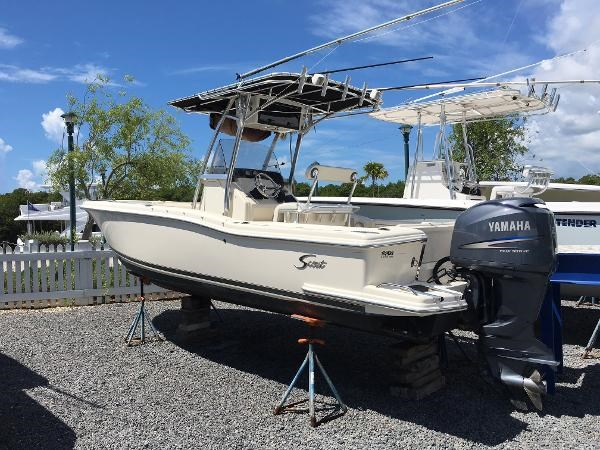 2003 scout 23 center console boat for sale 23 foot 2003 for Used fishing boats for sale in florida