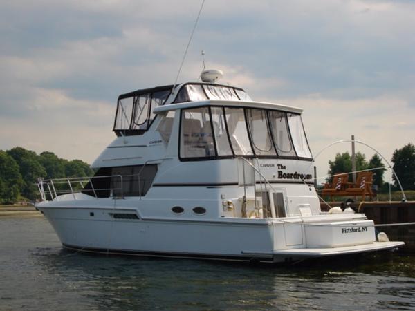 Carver 404 cockpit motor yacht 2002 used boat for sale in for Motor yachts for sale in florida