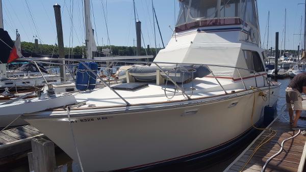 1976 Pacemaker 36 Sedan Bridge Boat For Sale 36 Foot