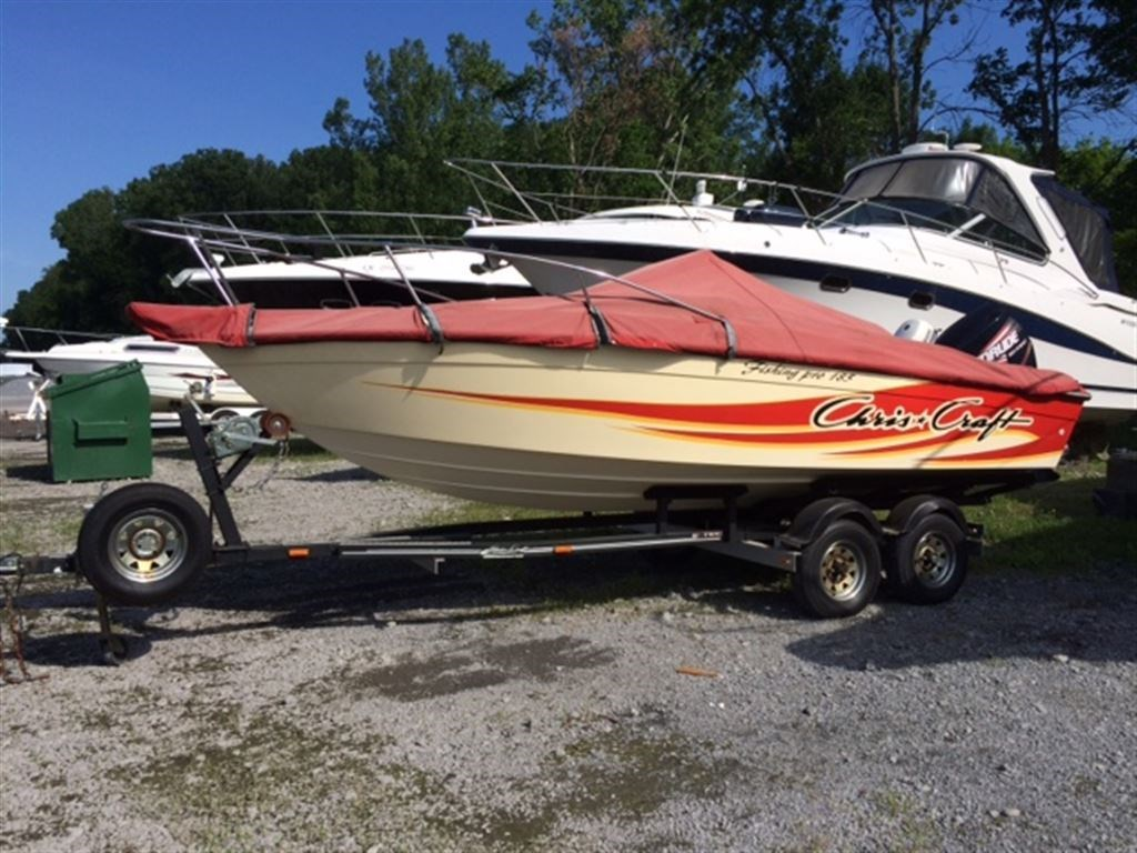 Chris craft 18 fishing pro 185 1984 used boat for sale in for Used fishing boats for sale in california