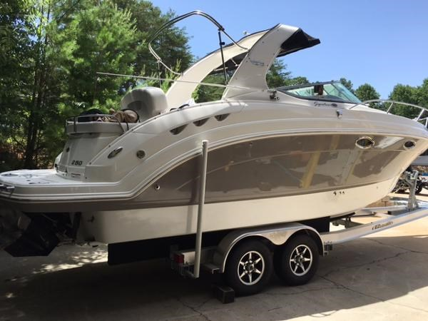 2007 chaparral 250 signature boat for sale 25 foot 2007 for Used outboard motors for sale in ga