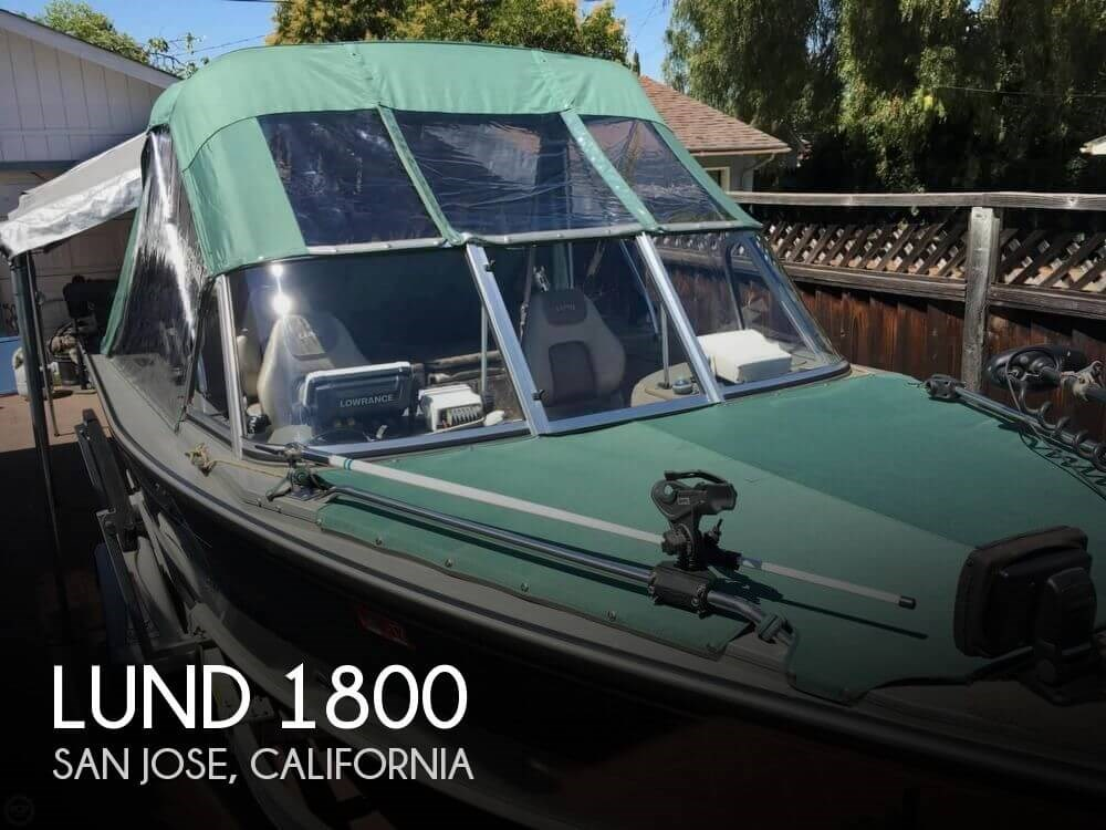 Lund 2002 used boat for sale in sarasota florida for Used lund fishing boats for sale
