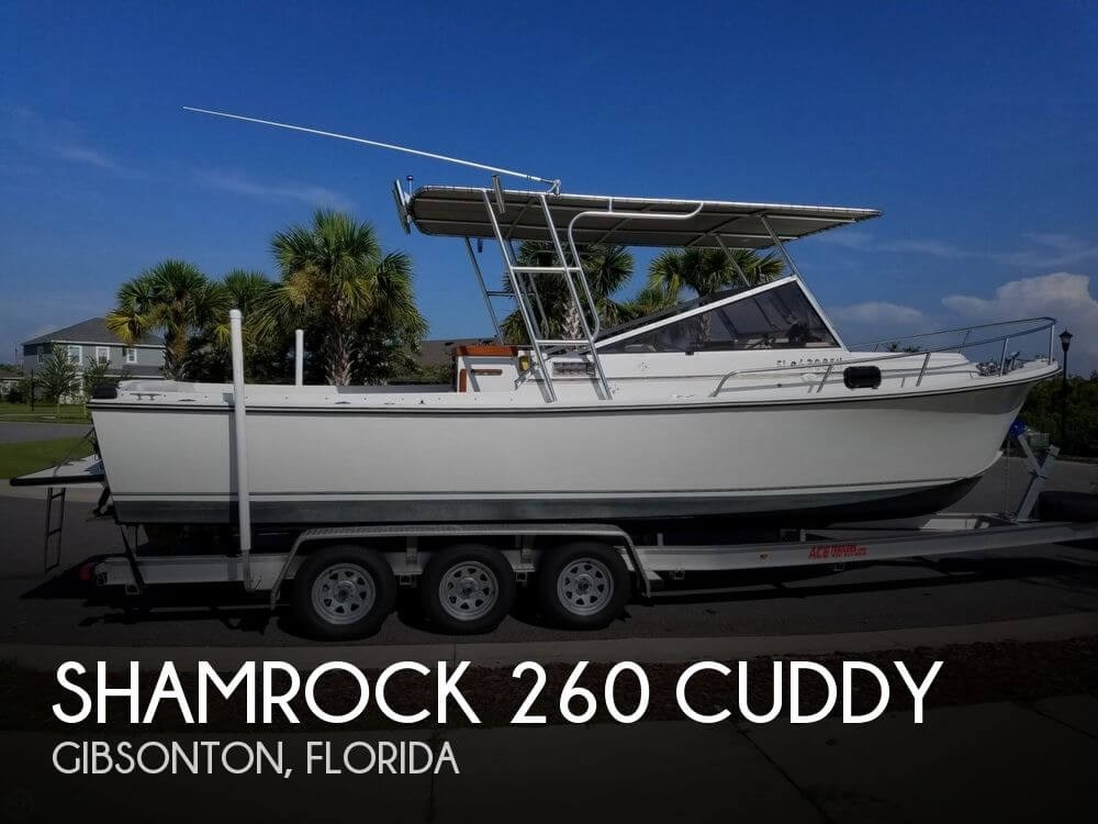 1984 shamrock boat for sale 1984 fishing boat in for Used fishing boats for sale in florida