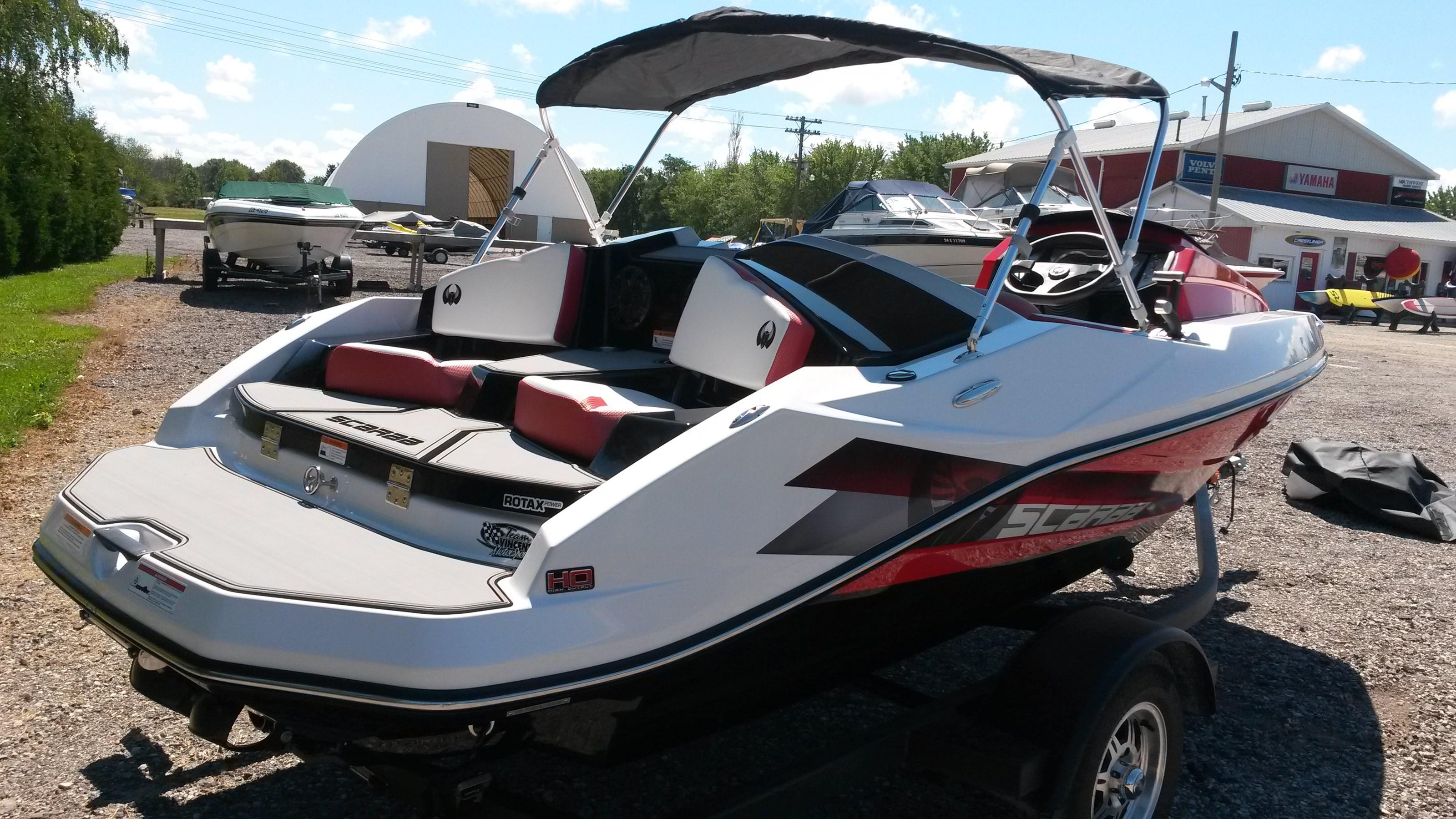 Scarab 165 Ho Impulse 2016 Used Boat For Sale In Grand