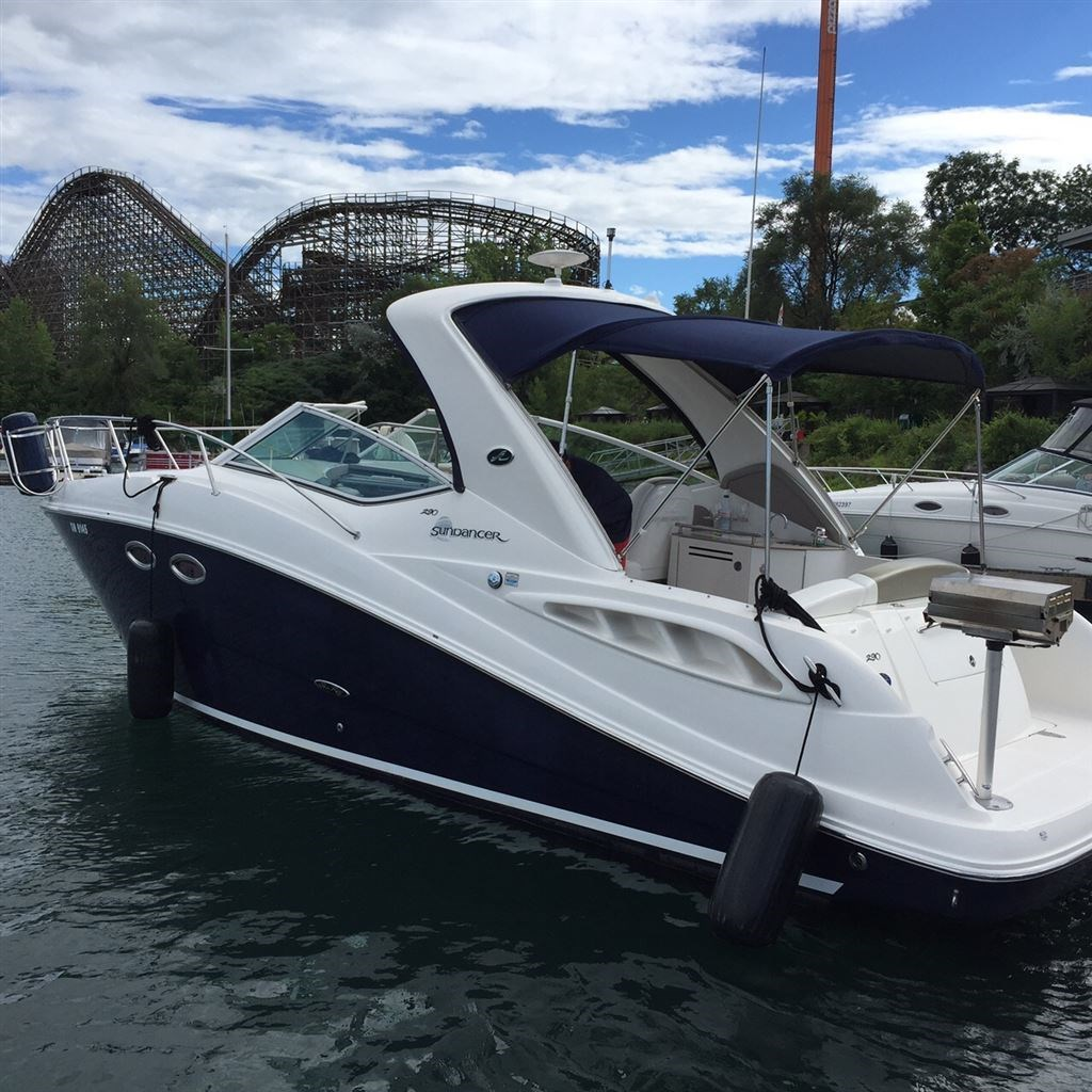 2006 sea ray 290 boat for sale 29 foot 2006 sea ray for Sea ray boat motors