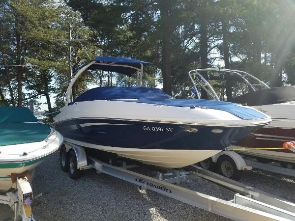 2016 sea ray 240 sundeck boat for sale 24 foot 2016 sea for Used outboard motors for sale in ga
