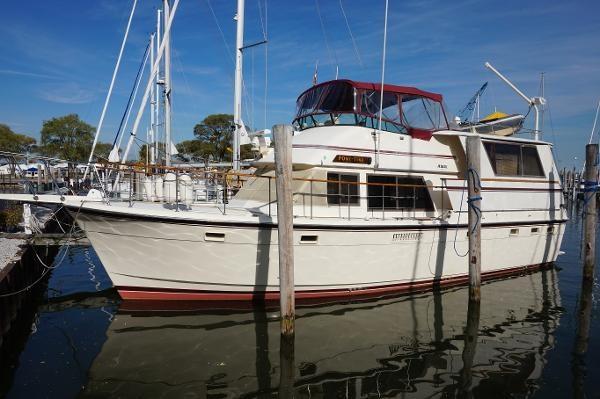 47 Atlantic Motor Vessel: 1985 Atlantic 47 Boat For Sale