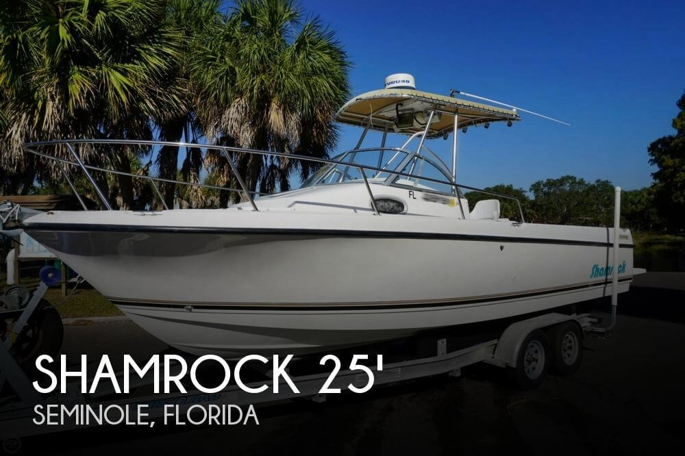 1998 shamrock boat for sale 1998 fishing boat in for Used fishing boats for sale in florida