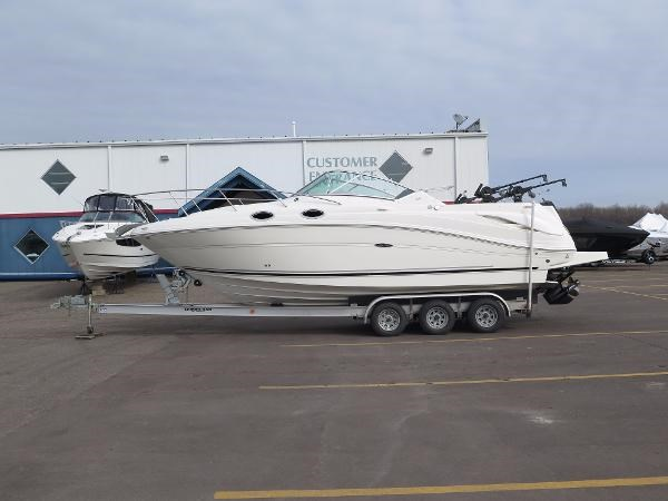 2005 sea ray 270 amberjack boat for sale 27 foot 2005 for Boat motors for sale mn