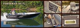 2013 Alumacraft Fisherman 145 Tiller New Boat For Sale