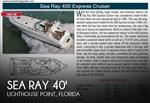 Sea Ray 400 Express 1996