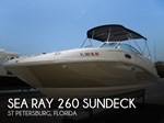 Sea Ray 260 Sundeck 2007
