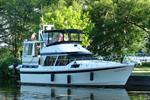 Nautique 38 Motor Yacht Aft 1989