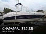 Chaparral 265 SSI 2005