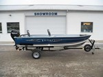 Lund 1600 Fury Tiller Boat for Sale