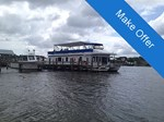 New Orleans Custom Houseboat Boat for Sale