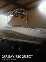 Sea Ray 230 Select 2007