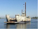 LCU Landing Craft Rebuilt in 2015- 200 ton capacity 1954