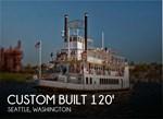 Custom Built 120 Steam Powered Paddle Wheel 1984