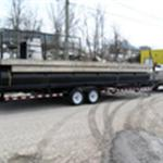 2014 Self Propelled Pontoon Barge 27.5' x 10' Self Propelled Barge
