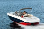 Stingray Boat Co 225CR CUDDY CABIN. A deep boat with ample freeboar 2016