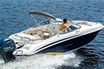 Stingray Boat Co 234LR SPORT DECK - The 234LR offers the versatilit 2016