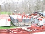 Custom Built Deck Barge - 3 sections -  to be completed 1985