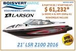 Larson *21 LSR 2100 2016