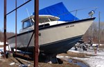 Custom Built Welded Aluminum Fishing Boat 1989