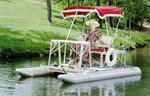 Aqua Cycle Pontoon Boat Paddle boat 1998
