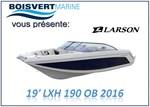 Larson *19 LXH 190 O/B 2016