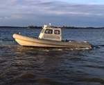 Aluminum Zodiac Security/Work Boat Aluminum Boat 2003