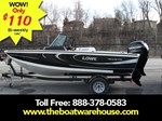 Lowe Boats FS 1710 Merc 90HP Trailer Fish Finder Stereo 2016