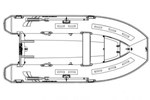 Highfield CL360BL (w/Bow Locker ) 2016