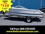 Four Winns Freedom 190 Volvo 200HP Trailer 2016