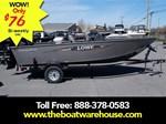 Lowe Boats FM160 Pro Mercury 40HP Trailer 2016
