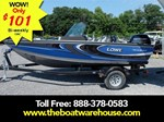 Lowe Boats FS 1610 Merc 90HP Trailer Fish Finder Stereo 2016