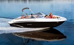 Stingray Boat Co 235LR. The Stingray 235 LR with a wide, sport deck 2016