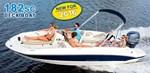 Stingray Boat Co Stingray182SC Deck Boat -- you won't believe t 2016