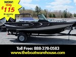 Lowe Boats FS 1710 Merc 115HP Trailer Fish Finder Stereo 2016