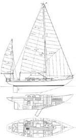 CUSTOM Migrator Yachts Block Island 40 1987