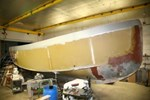 Tugboat Hull and Parts Project Boat 2014