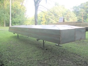 2014 Steel Pontoons Square Steel Pontoons Photo 9 of 9