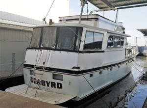 Hatteras 58 Motor Yacht 1980 Used Boat For Sale In