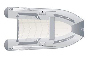 2017 Zodiac Cadet 300 Compact RIB Photo 1