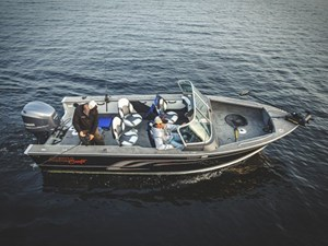 2017 Alumacraft Trophy 205 Sport Photo 1