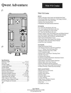 Tracker Marine Boat Raised Vinyl Decal 185962 Nitro Z19 White furthermore I0000BnCuZGekmQA further Wiring Diagram For Four Winns Boat also 4 Step Under Platform Slide Mount Boat Boarding Ladder Bd78bdfc12790461 in addition 142280810994. on lund boat s